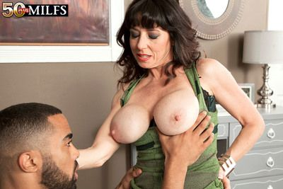 Karen Kougar Is Back For A Big, Black Cock