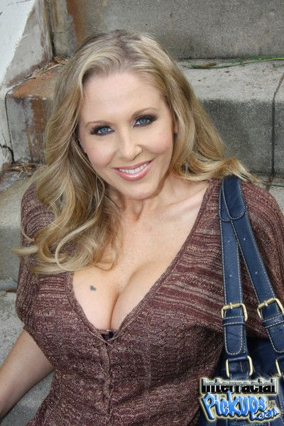 Julia ann gets picked up by a huge cocked rastafari