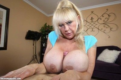 Busty granny shelly the burbank craving stiff cock for some cum