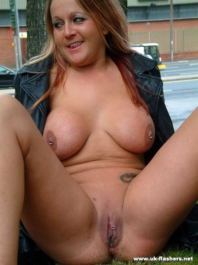 Ginas busty public nudity and amateur milf