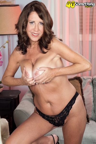 The busty 50something from Delaware