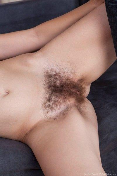 Jessica patt gets hairy cream fun with her boyfriend