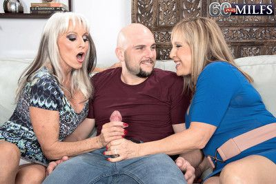 Two of the horniest matures luna azul and sally dangelo