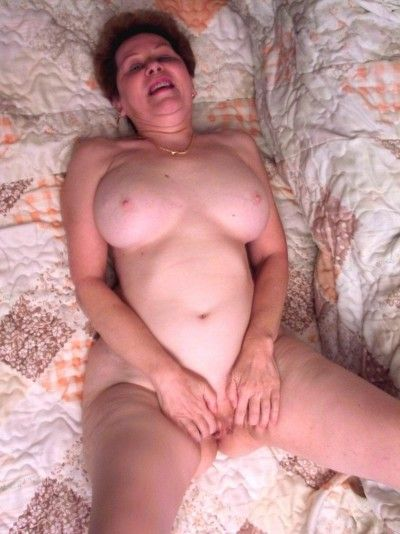 Very old granny seducing and posing