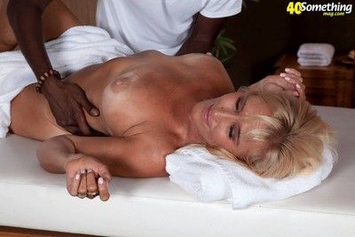 Horny mature lady ready for black cock