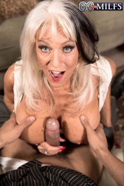 Dirty 60milf sally dangelo craving huge hard rod