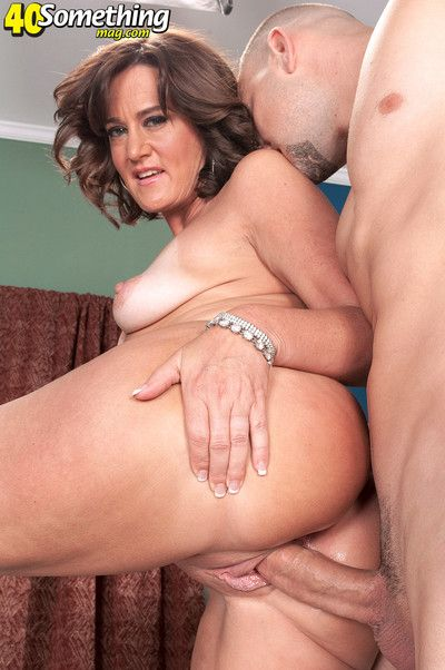 Mature ruby thompson fucked in her ass