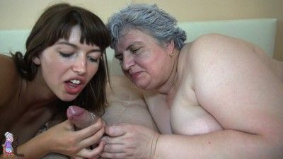 Great gang fuck and lesbians