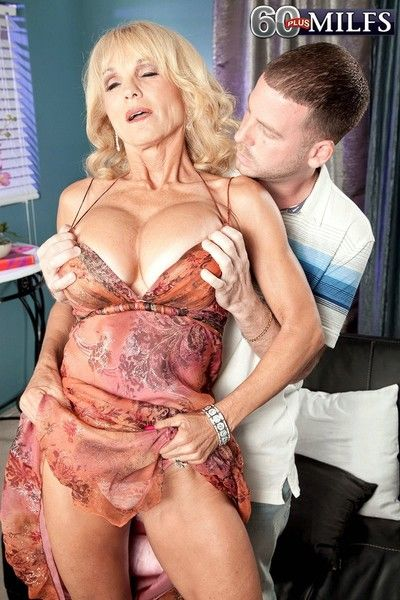 Busty mature cara reid fucked by young cock