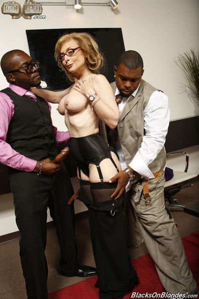 Nina hartley fucking 2 big black dicks at dogfart