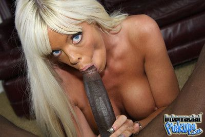 Jordan blue gets seduced and fucked by a black stud