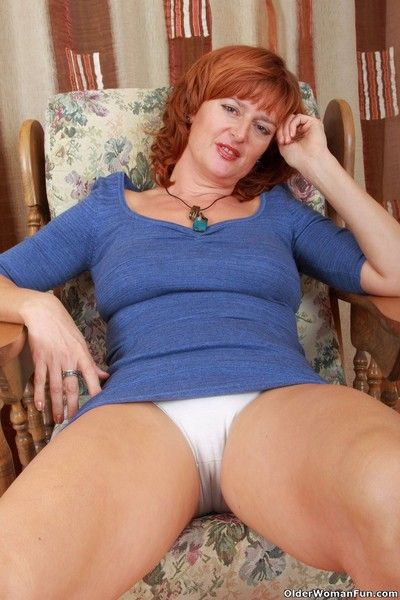 Hot to trot milf liddy in white panties