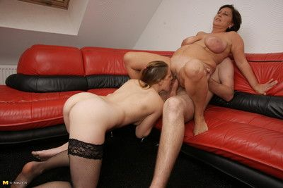 Two girls fighting over one cock