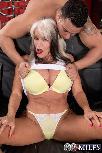 Busty titted mature lady got fucked