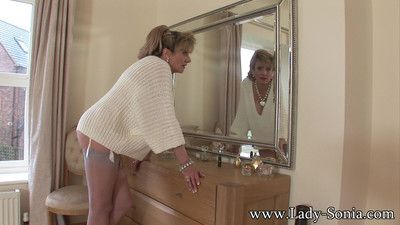 Very hot nylons mature housewife lady sonia