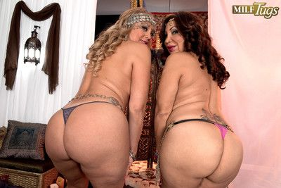 Sandra martines and marcella guerra having a huge dick for fun