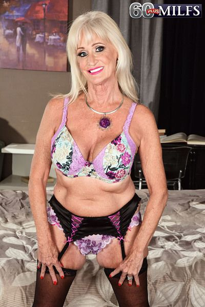 A new 60plus MILF named Leah