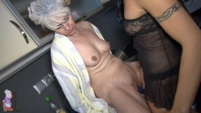 Enjoy a hot granny mix collection