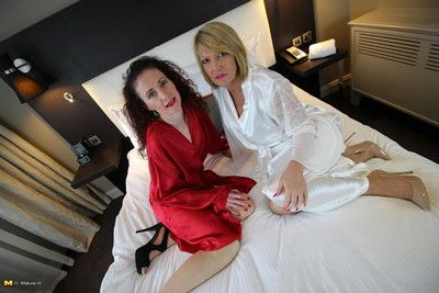 Two naughty british lesbian housewives go all the way