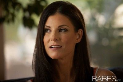 Brunette india summer banged by her hunky lover