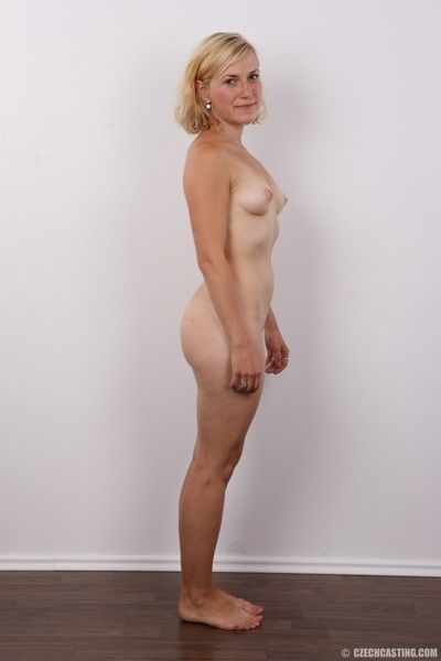 Mature wife in casting session