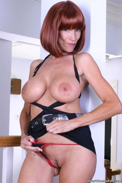 Kinky grandma marylin has massive boobs