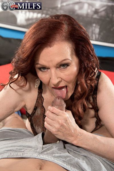 Dirty grandma katherine merlot drilling her pussy deep and hard