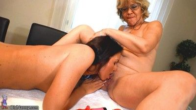 Very lovely lesbian moms and milfs