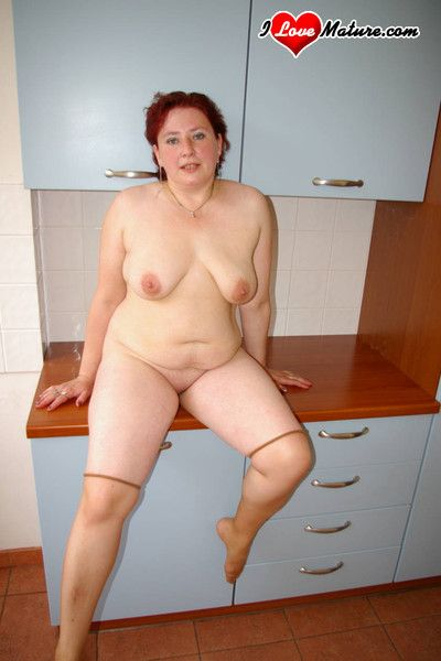 Chunky housewife getting fucked real good