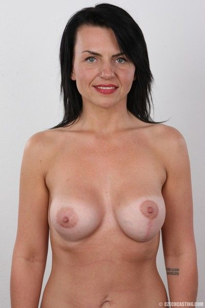 Hot wife with fake boobs