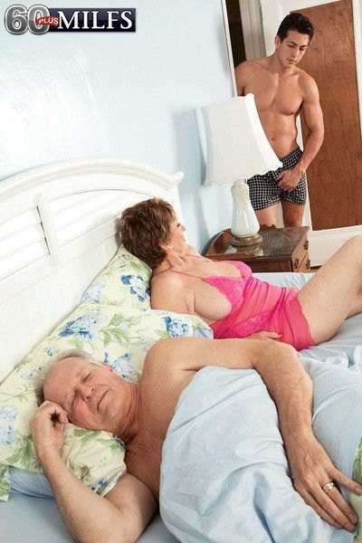 69yearold wife fucked in cuckold sex action