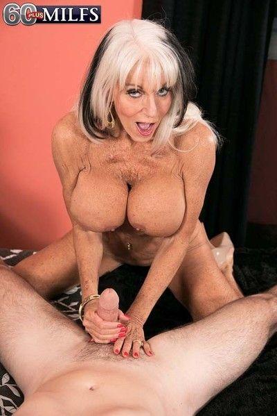 60 granny milf whore sally dangelo doing young stiff dick