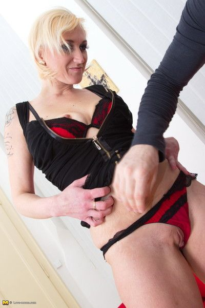 Naughty mom gets it hard in pov style