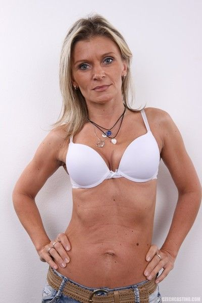 Hot mature milf in casting photos