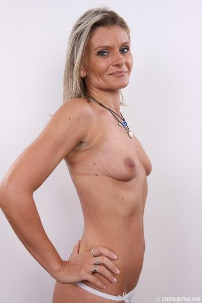 Hot mature milf in casting photos