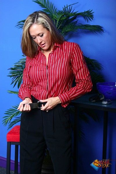 Brandi love milf office