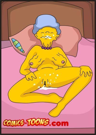 Simpsons- Mature Fuck Session