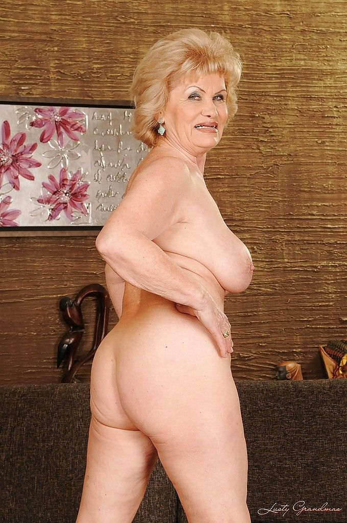 stripping vids posing Granny and