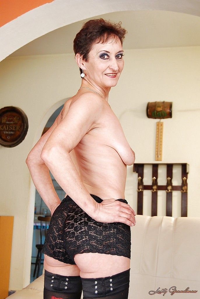 Suggest you Stockings hairy skinny gilf sorry, that