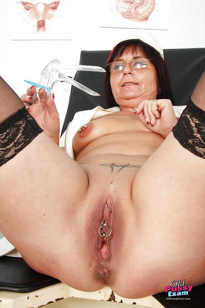 Nasty Granny With Glasses Homemade Masturbation -