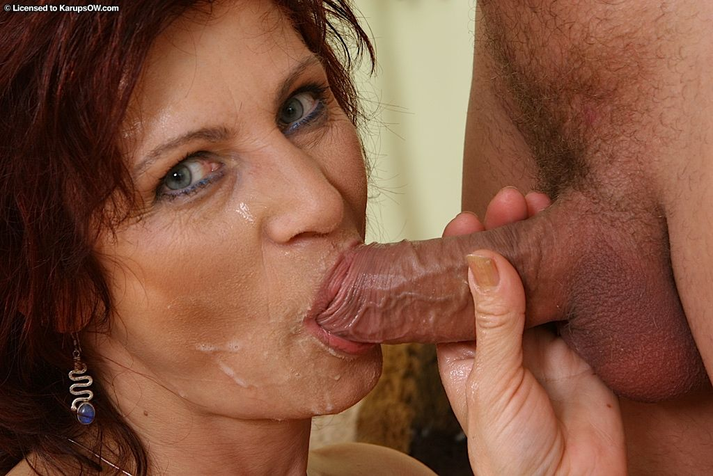 Awesome blowjob mature are