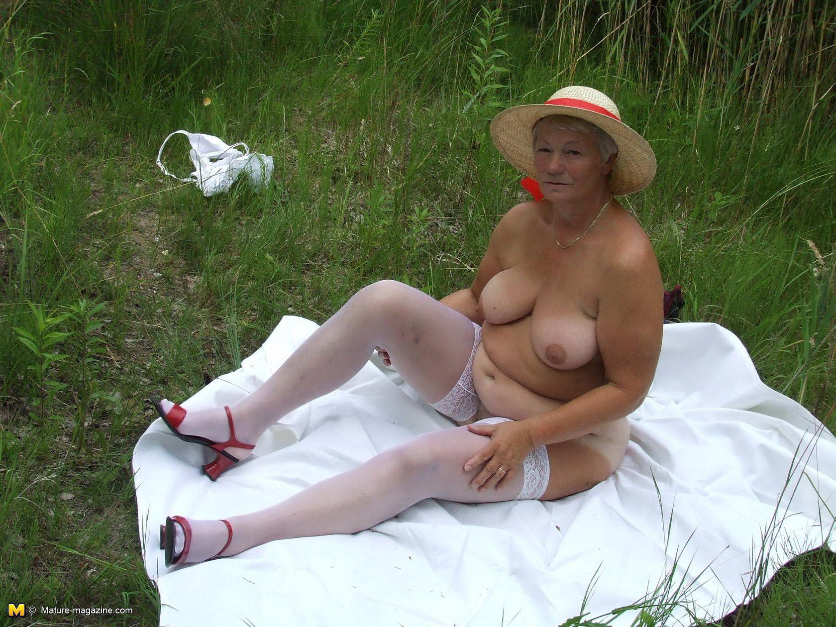 Interracial Fun On The Grass