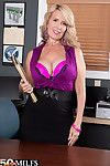 Hot mature laura layne gives the best customer service