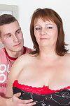 Big mature slut having sex with her toy boy