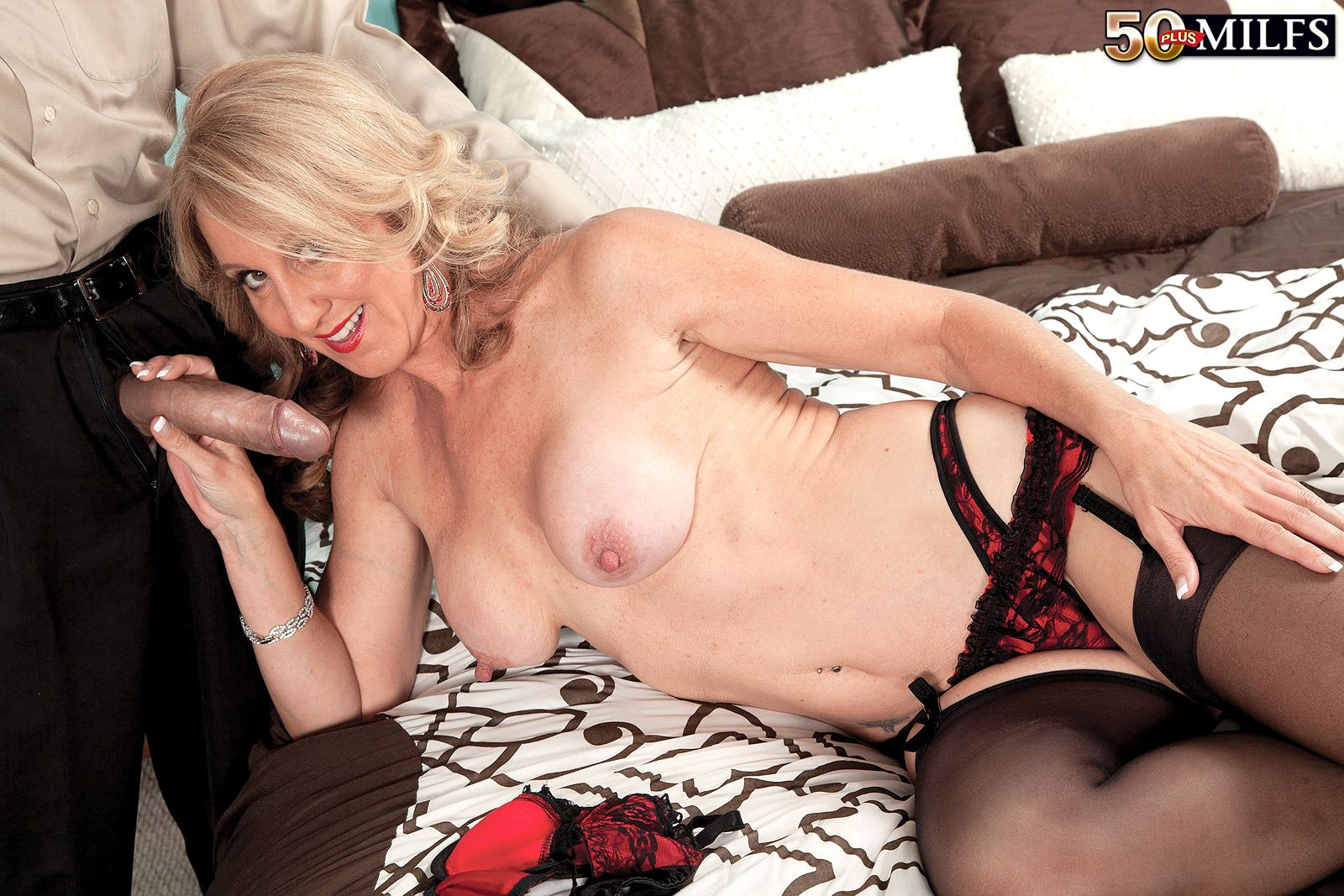 milf, divorcee and proud owner of our longest nipples ever at mature