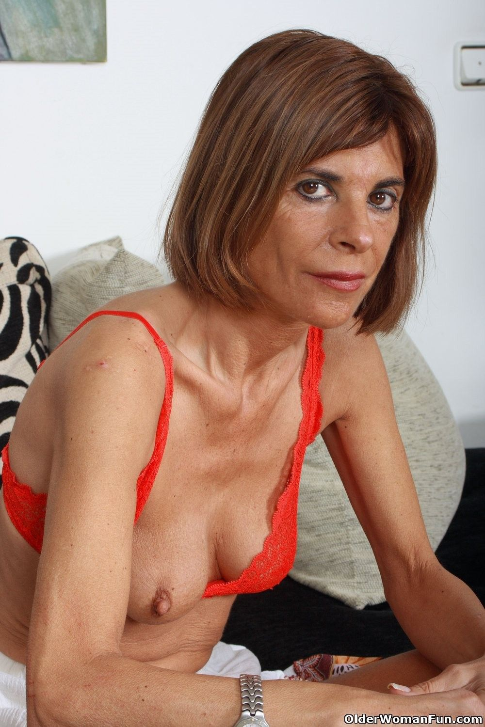 Skinny older porn assured, what