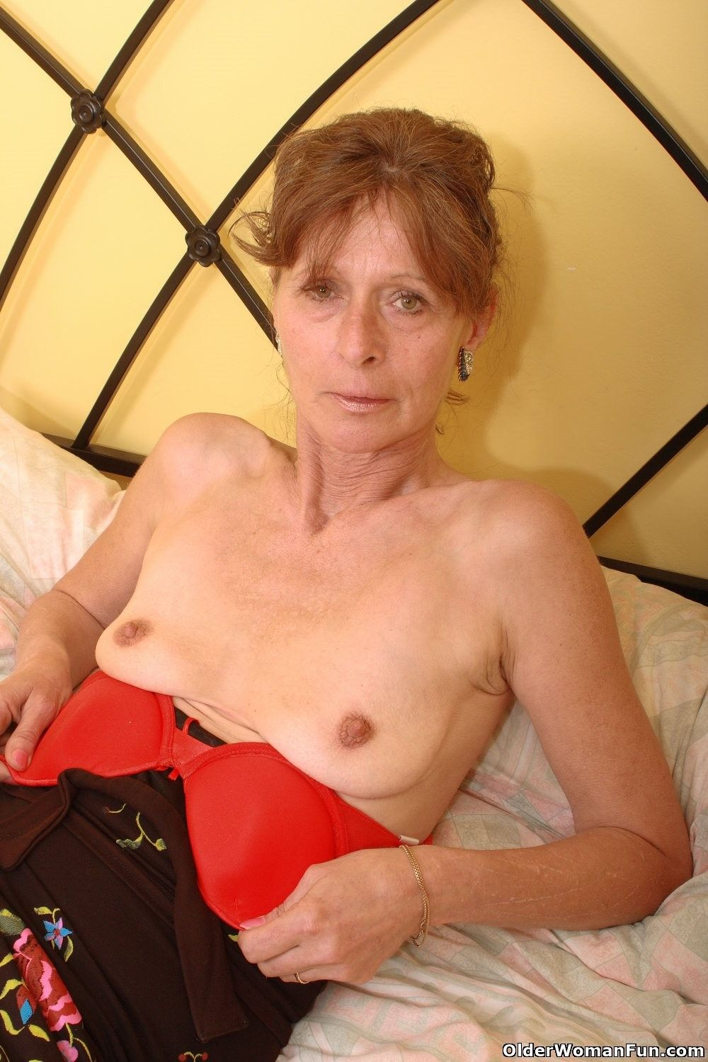 Think, that mature hairy pussy saggy boobs you