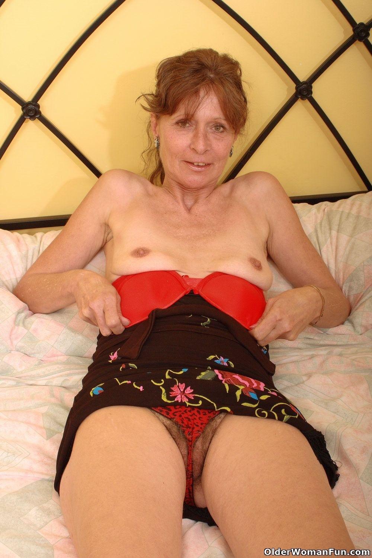 hot redhead gets bent free