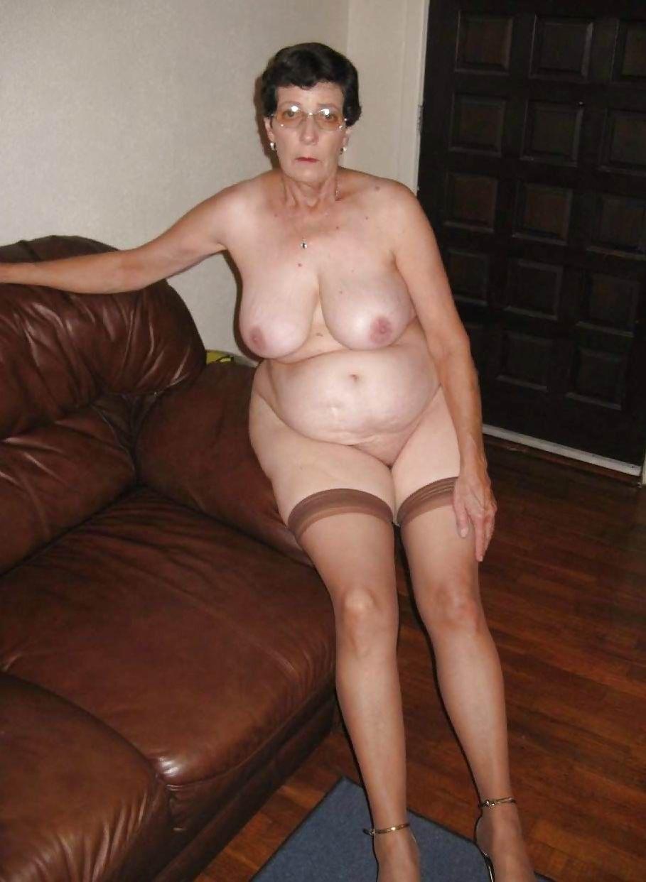 Think, that Plump granny posing naked photos