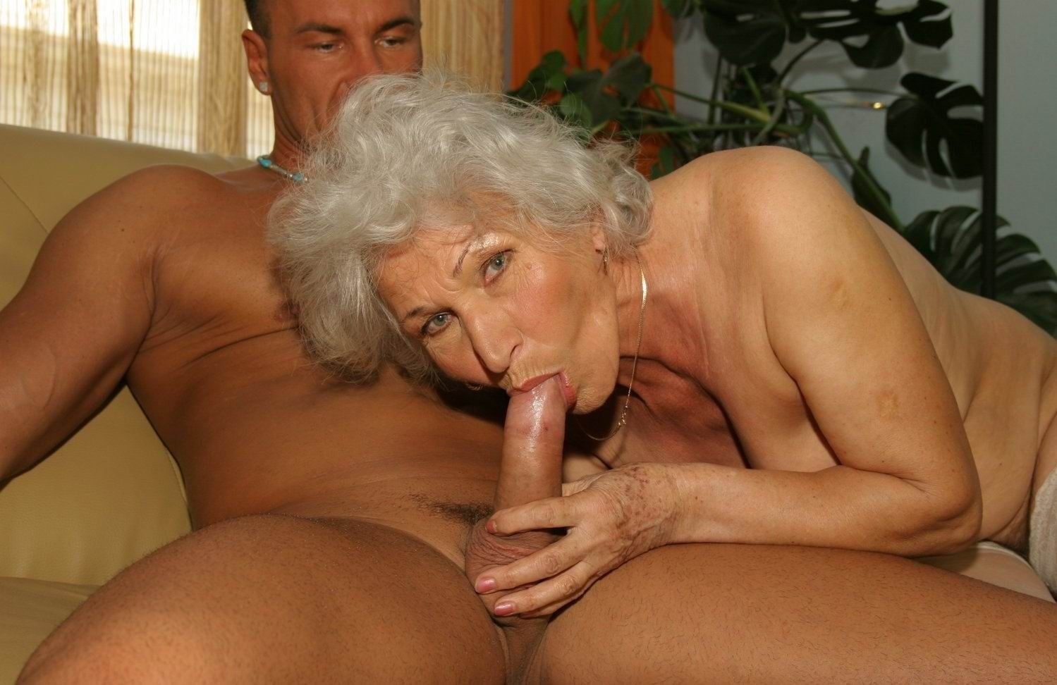 For the huge grannny sex all